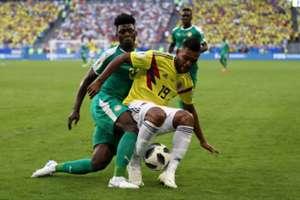 Miguel Borja Colombia vs Senegal Mundial Rusia 2018