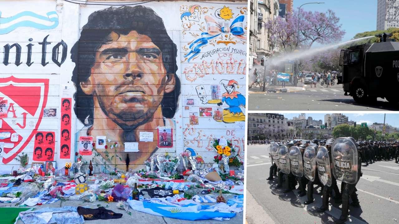 Diego Maradona funeral