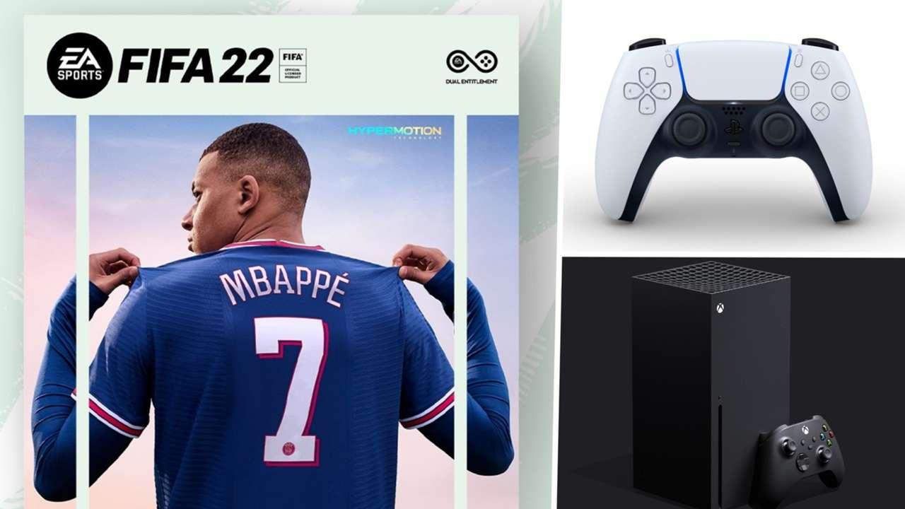 FIFA 22 Kylian Mbappe PS5 Xbox Series X