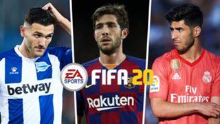 Lucas Perez, Sergi Roberto, Marco Asensio, FIFA 20 tournament