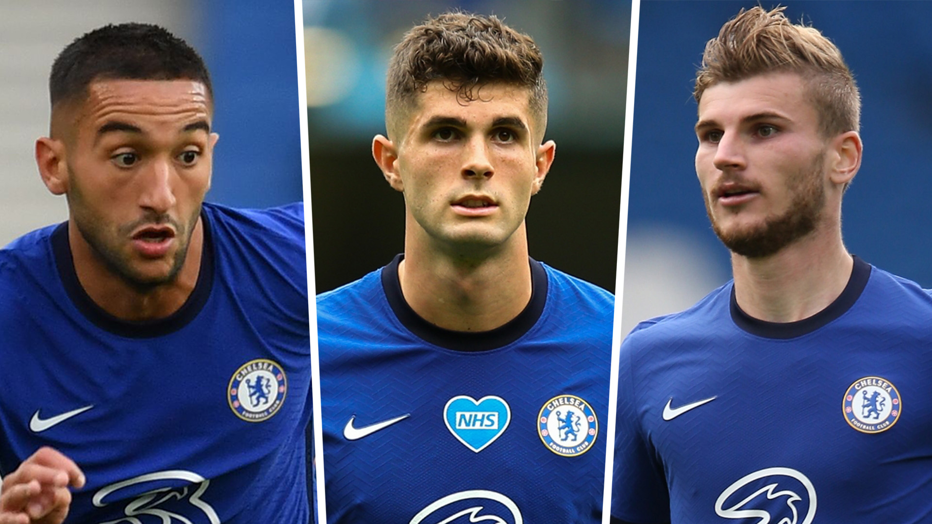 'Fully fit Pulisic & Ziyech could force Werner out' – Chelsea striker faces axe when Blues at full strength, says Schwarzer