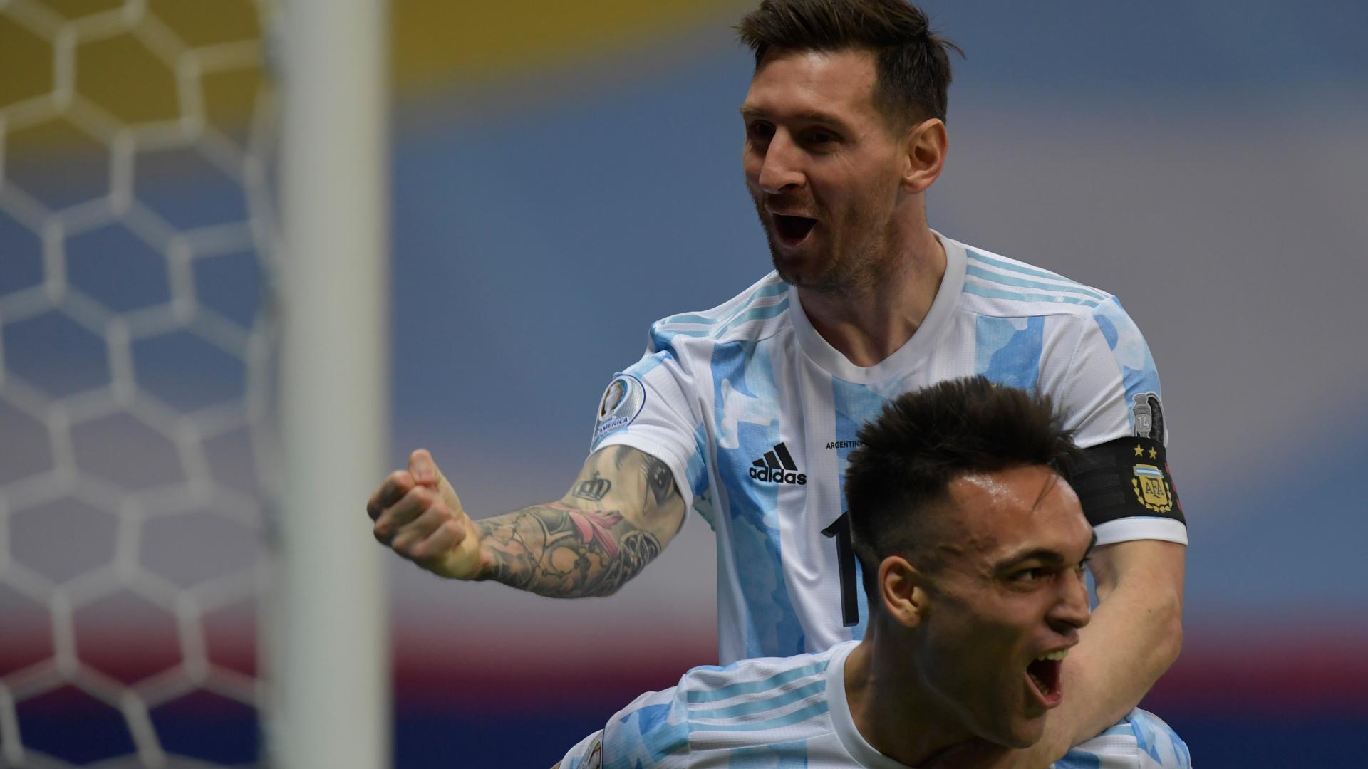 LIVE: Argentina vs Colombia