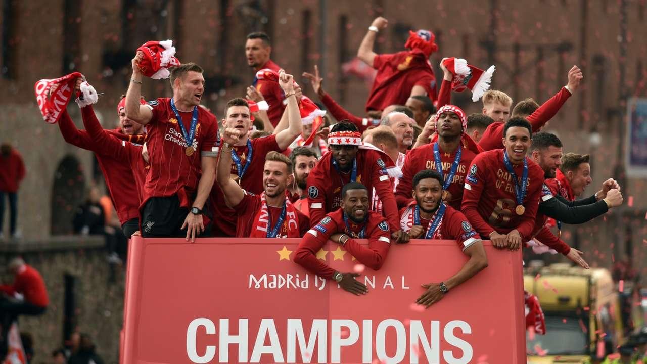 Final Ucl 2019 Lebih Dari 500 Ribu Suporter Ramaikan Parade Juara Liverpool Goal Com