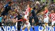 Mario Mandzukic Croatia France World Cup final