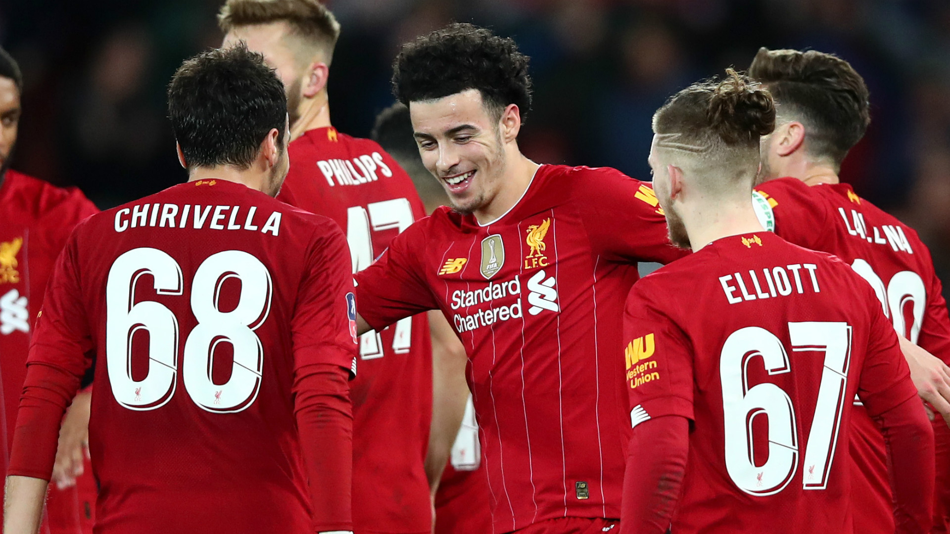I Love Not Seeing Liverpool Academy Players Again That Means They Re Excelling Mcmanaman Goal Com