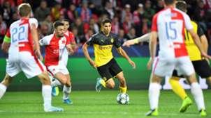 Achraf Hakimi Borussia Dortmund BVB Slavia Prag Champions League 02102019