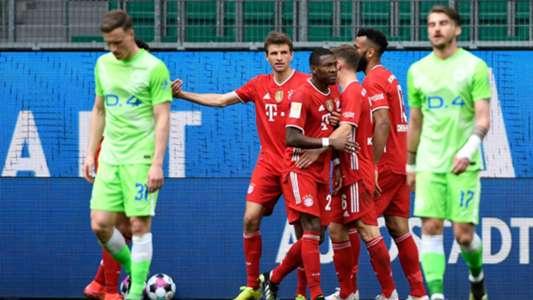 VIDEO - FC Bayern gewinnt unterhaltsames Spitzenspiel gegen den VfL Wolfsburg | Goal.com