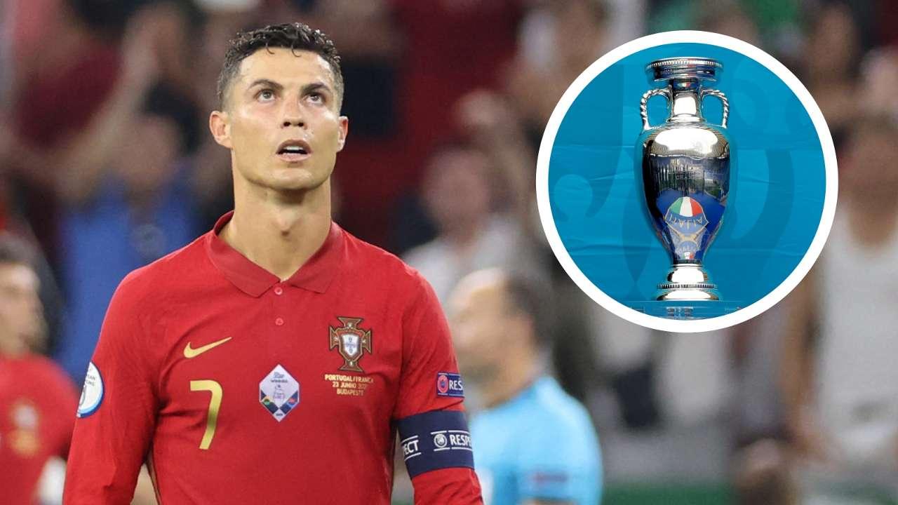 Cristiano Ronaldo Euro 2020 GFX