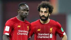 Sadio Mane Mohamed Salah Liverpool 2019-20