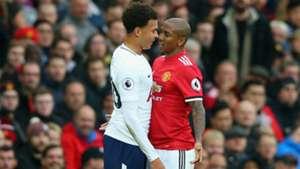 Ashley Young Dele Alli Manchester United Tottenham Hotspur