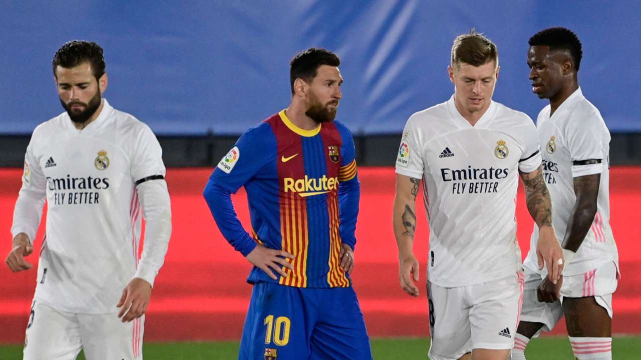 Messi Real Madrid Barcelona Clasico 2021