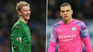 Joe Hart Ederson Manchester City