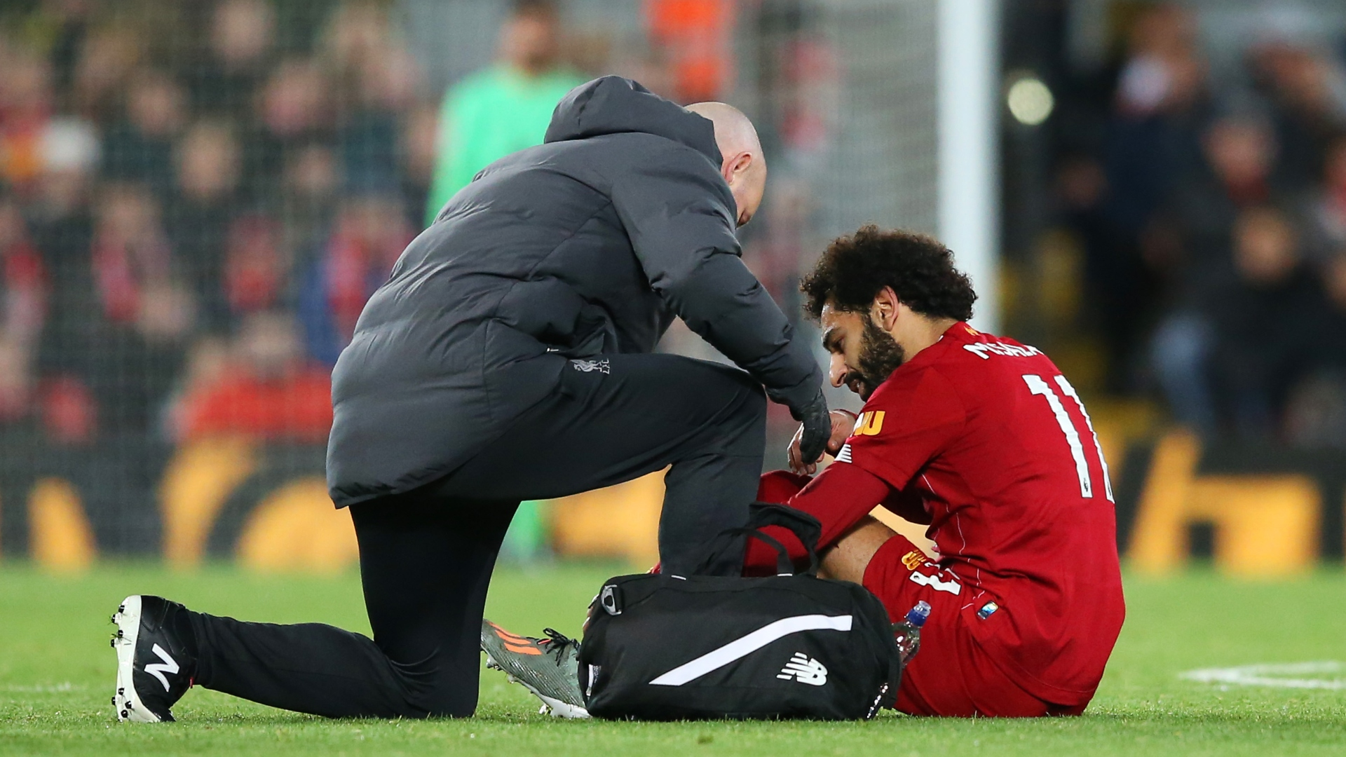 Salah doubtful for Liverpool clash against Crystal Palace