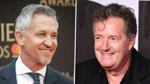 Gary Lineker, Piers Morgan