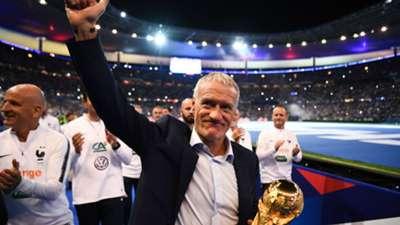 Didier Deschamps France celebrations