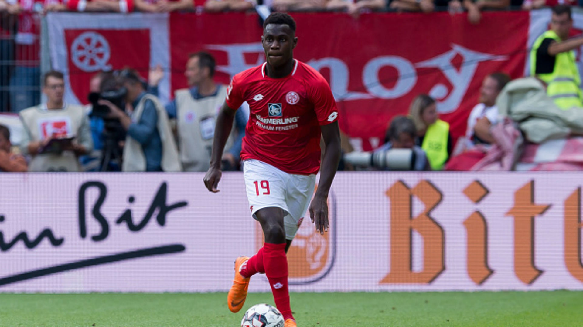Niakhate and Kunde strike in 2-0 victory for Mainz at Eintracht Frankfurt