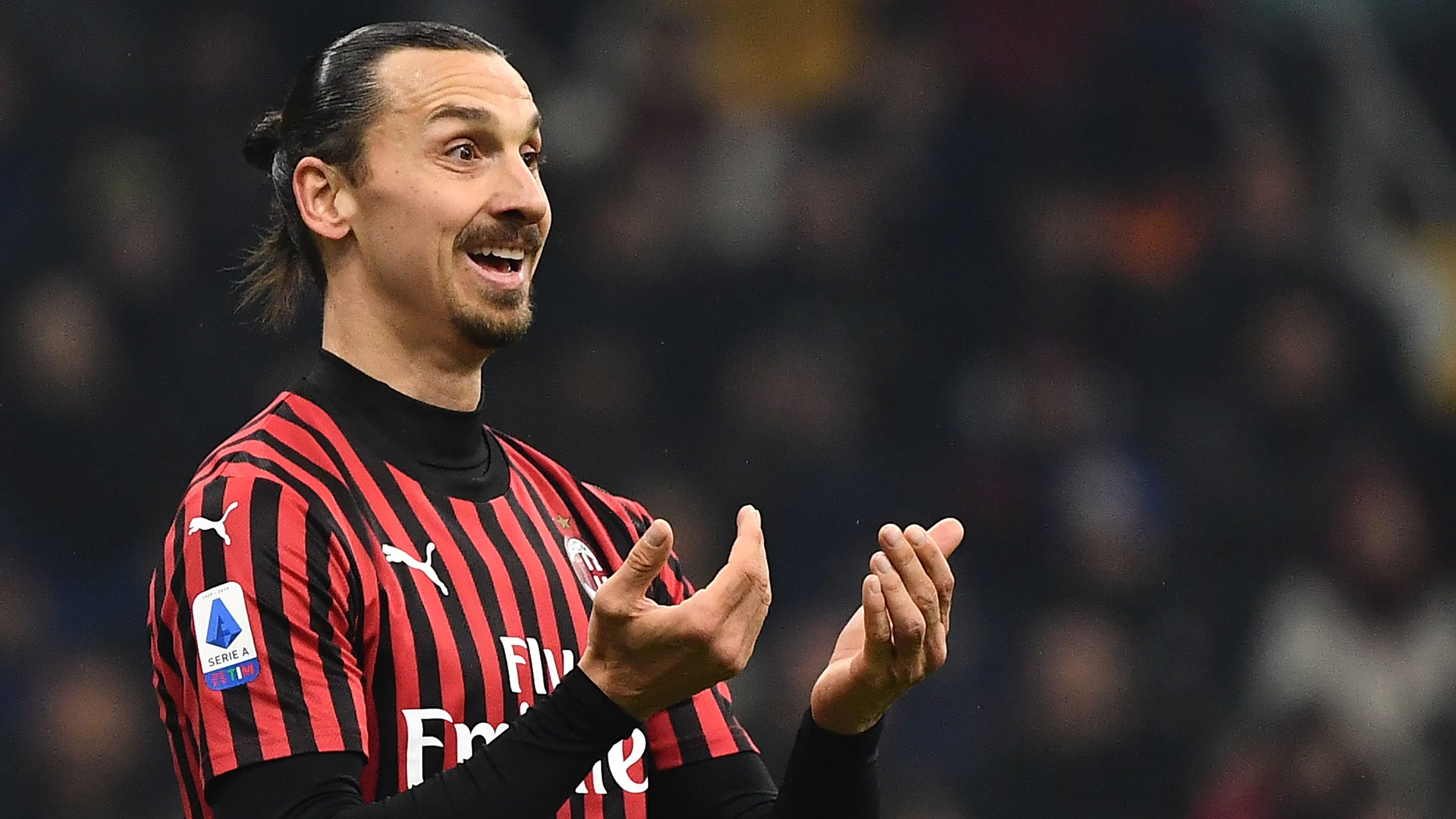 'Ibrahimovic is not a player for the Europa League!' - Zlatan expecting AC Milan exit