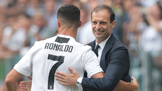 أليجري يُشيد برونالدو ويتحدث عن توقعاته لدوري أبطال أوروبا   Goal.com
