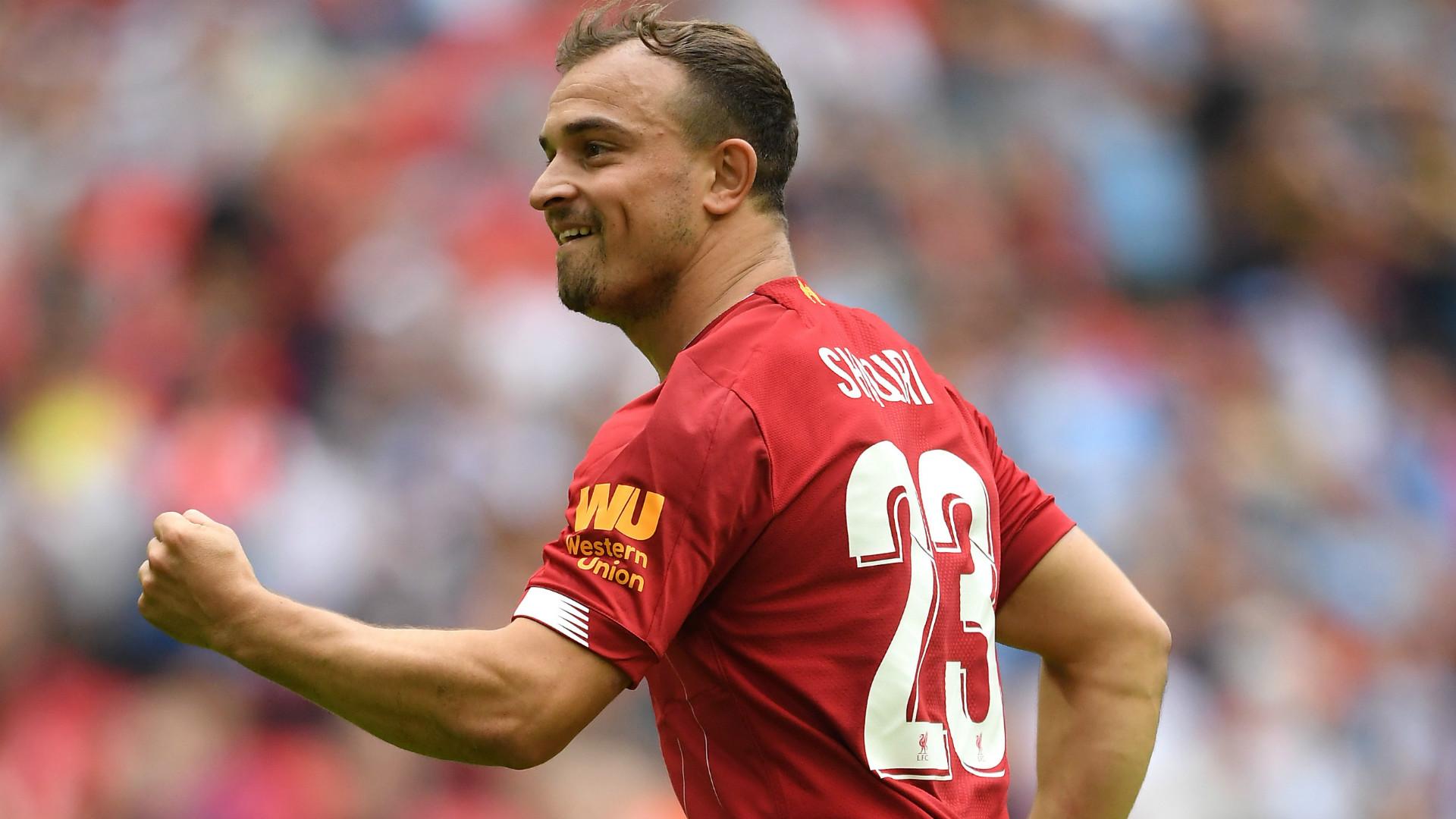 Liverpool Trainer Jurgen Klopp Beeindruckt Von Xherdan Shaqiri Seine Muskeln Sind Unglaublich Goal Com