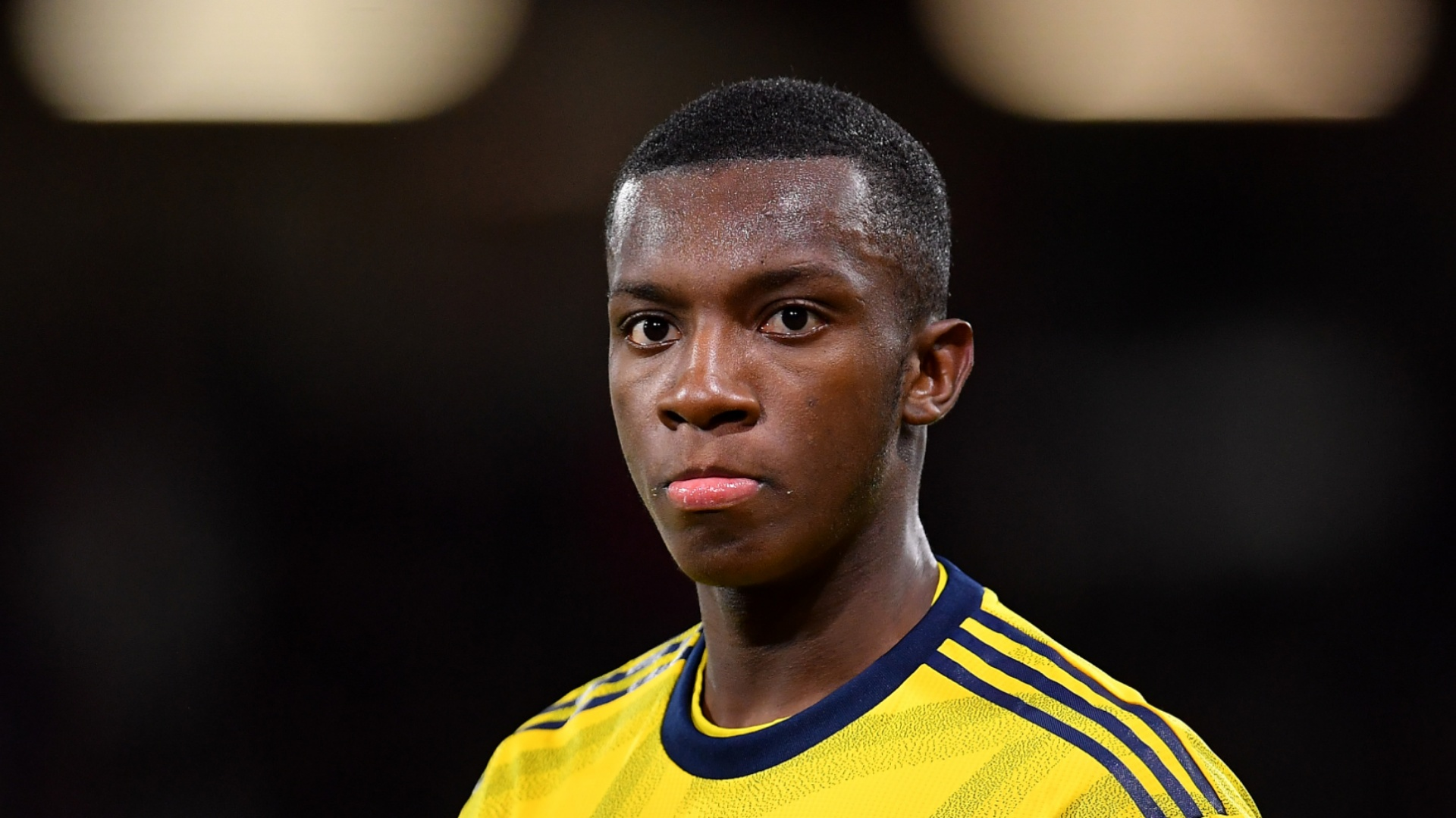 Nketiah sets unwanted Arsenal record against Leicester City