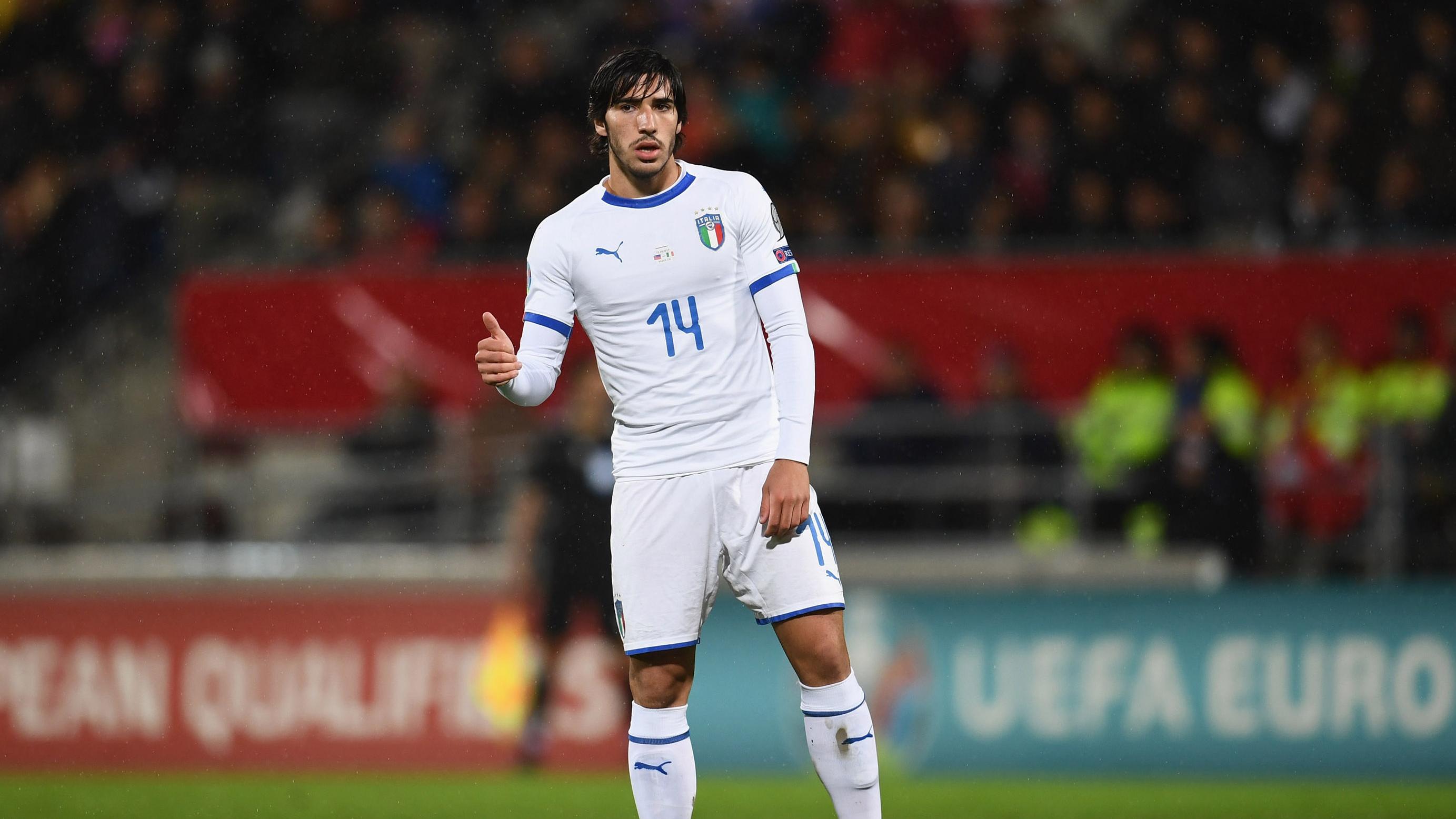 A mix of Pirlo and Gattuso? Italian debutant Tonali not shying ...