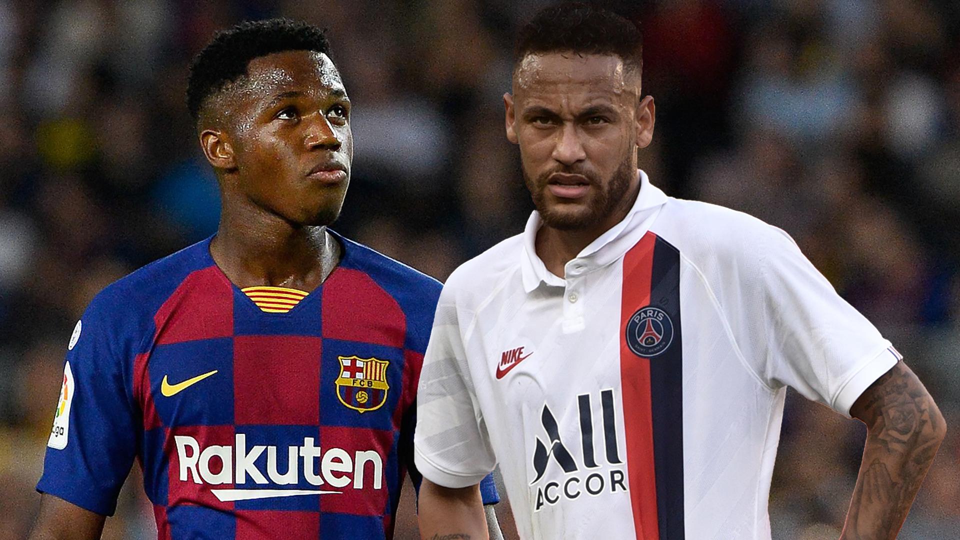 Barcelona Transfers La Liga Champions Don T Need To Sign Neymar If Ansu Fati Keeps Starring Says Rivaldo Goal Com