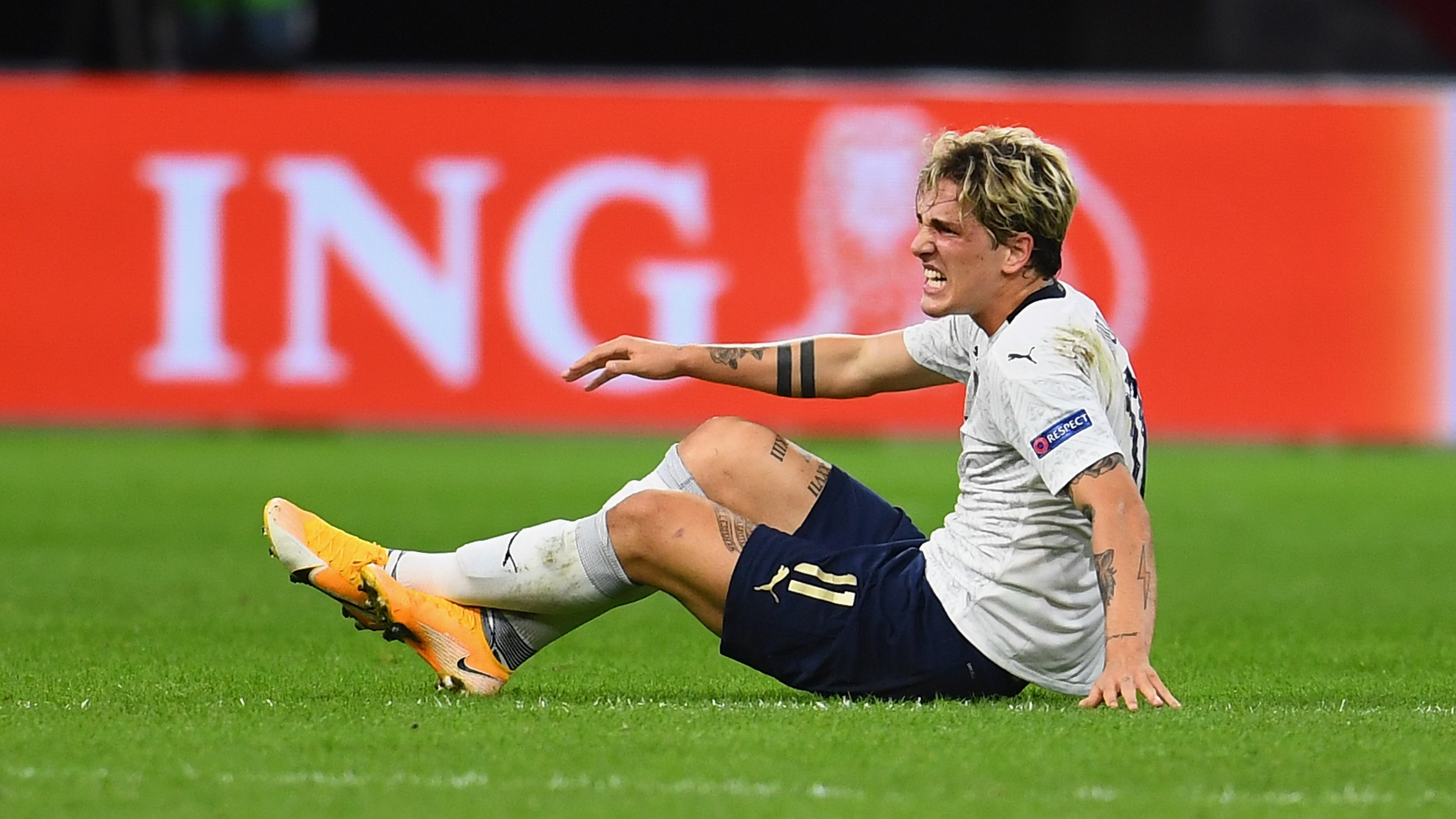 Zaniolo in nightmare injury blow as he suffers a second ACL injury in less than a year