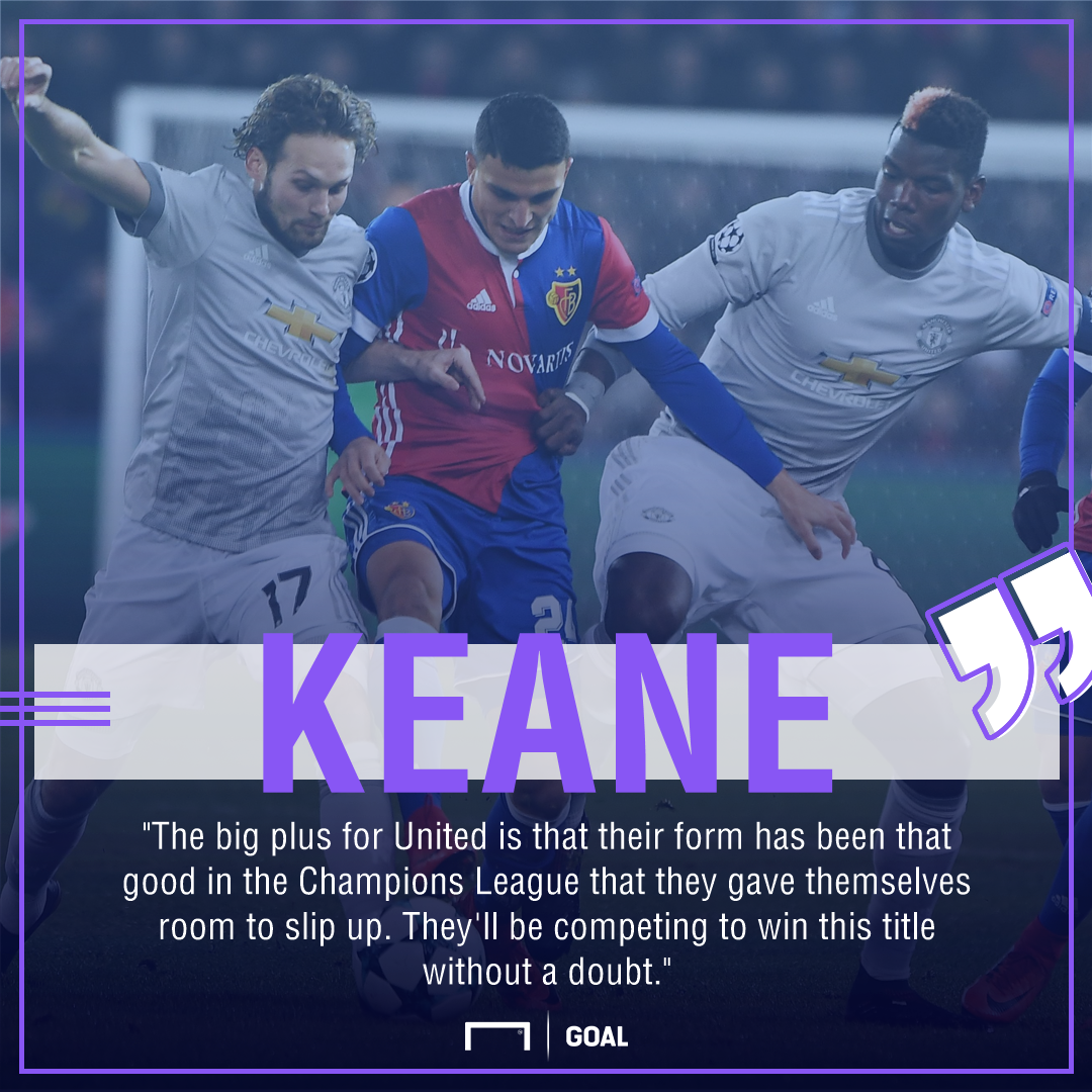 Roy Keane Manchester United compete Champions League