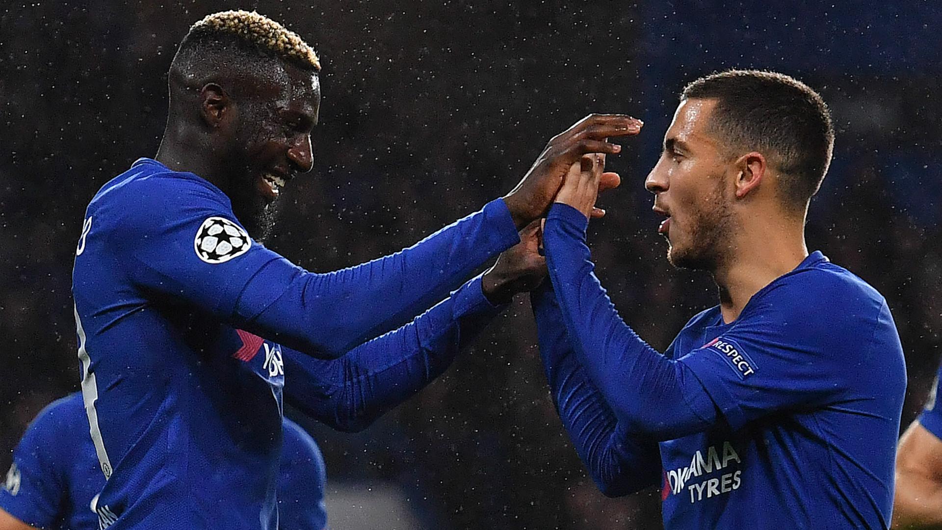 Tiemoue Bakayoko Eden Hazard Chelsea 2017