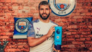 Sergio Aguero Player of the Month 2019-20