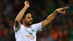 DFB Pokal Atlas Delmenhorst Werder Bremen Claudio Pizarro