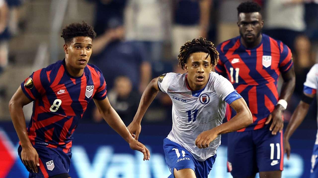 USMNT Haiti Gold Cup 2021