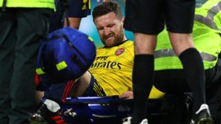 Shkodran Mustafi, Arsenal injury