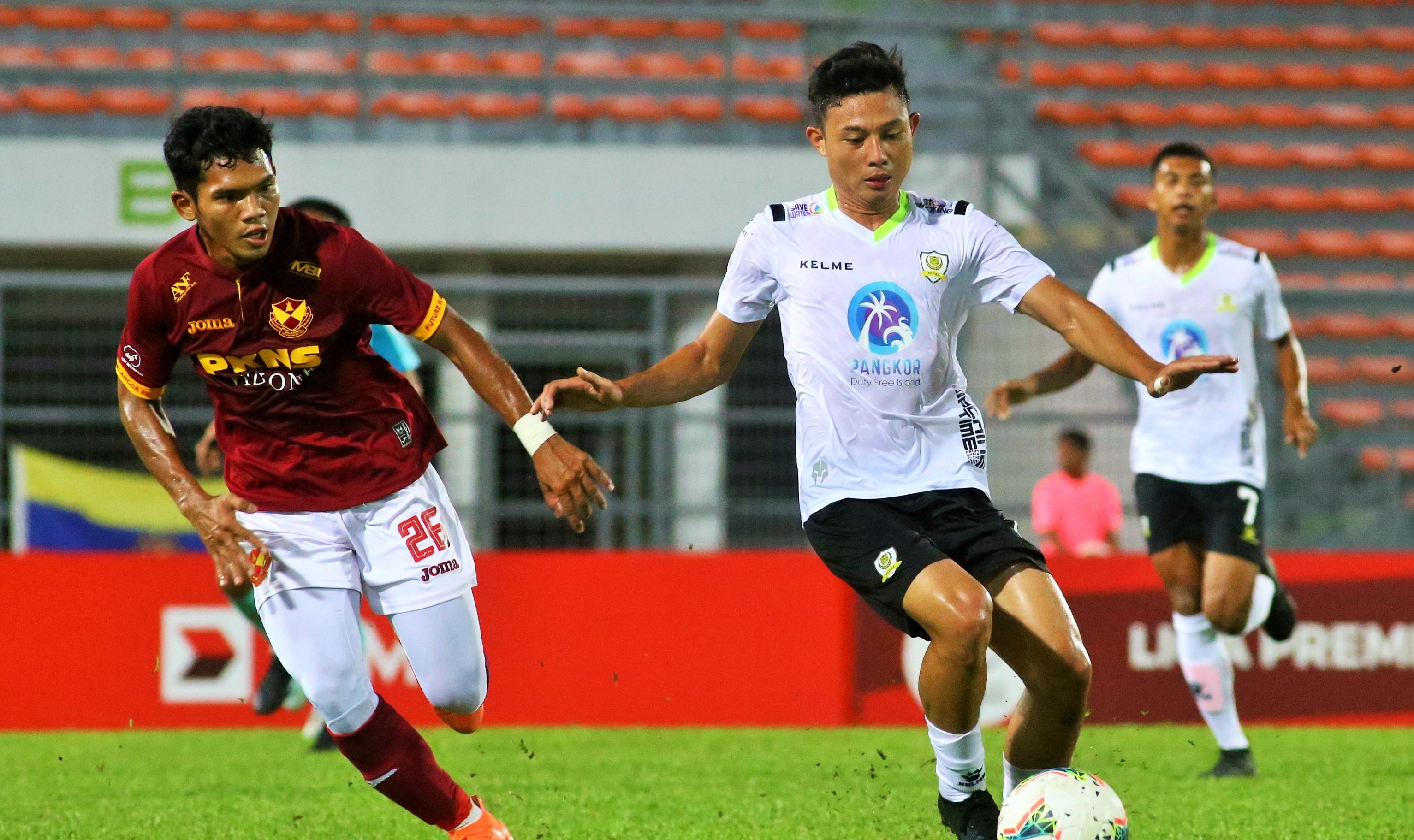 Aidil Azuan, Selangor II, Khairullah Halim, Perak II, Malaysia Premier League, 14032020
