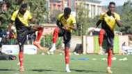 Uganda training fo Cecafa.