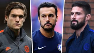 Marcos Alonso Pedro Olivier Giroud Chelsea