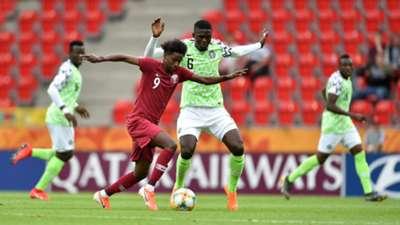 قطر - نيجيريا للناشئين