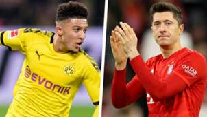Jadon Sancho Robert Lewandowski Split