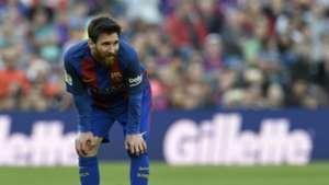 Lionel Messi Barcelona v Villarreal La Liga 06052017