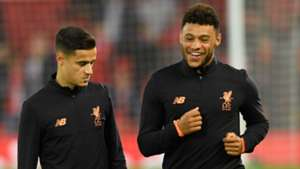 Phil Coutinho Alex Oxlade-Chamberlain