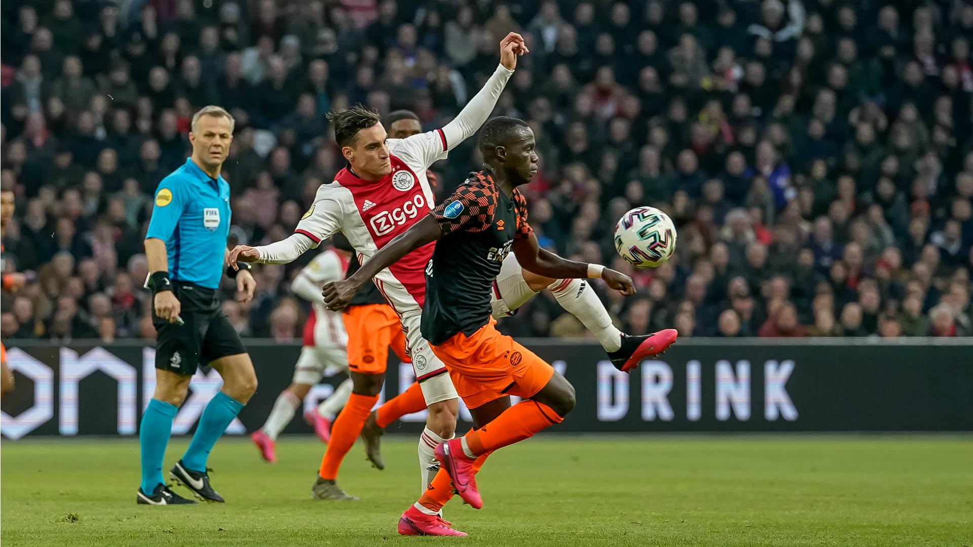 Ajax V Psv Wedstrijdverslag 02 02 20 Eredivisie Goal Com