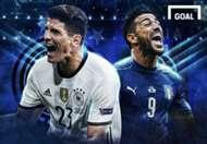 GFXID Jerman vs Italia | Germany vs Italy | Semi-final Euro 2016