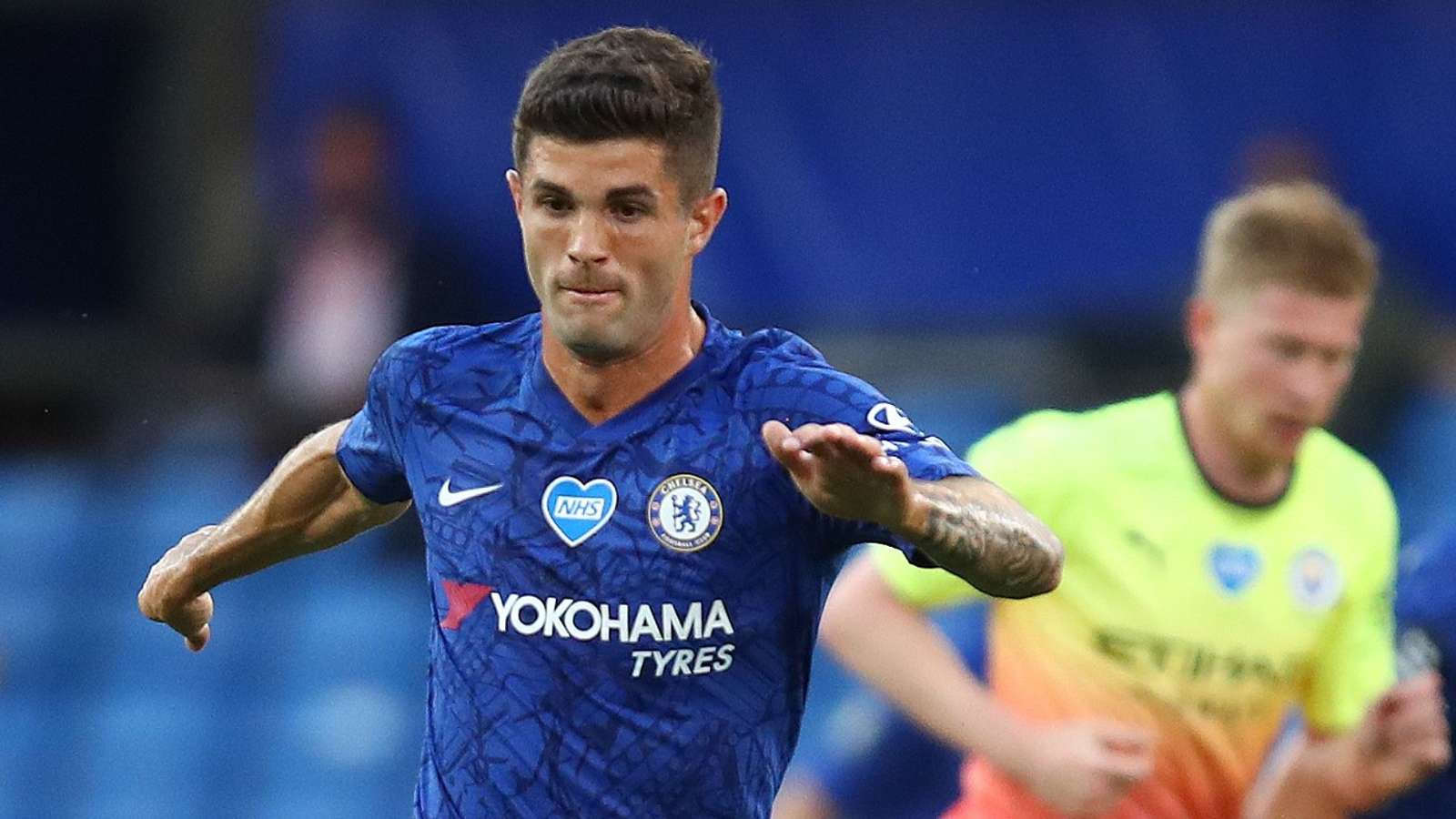 Pulisic Chelsea Manchester City 2020