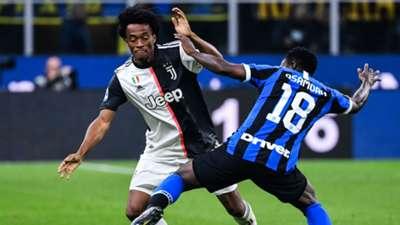 Kwadwo Asamoah Juan Cuadrado Inter Juventus
