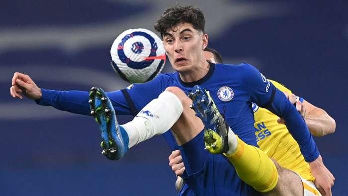 Kai Havertz, Chelsea vs Brighton 2020-21