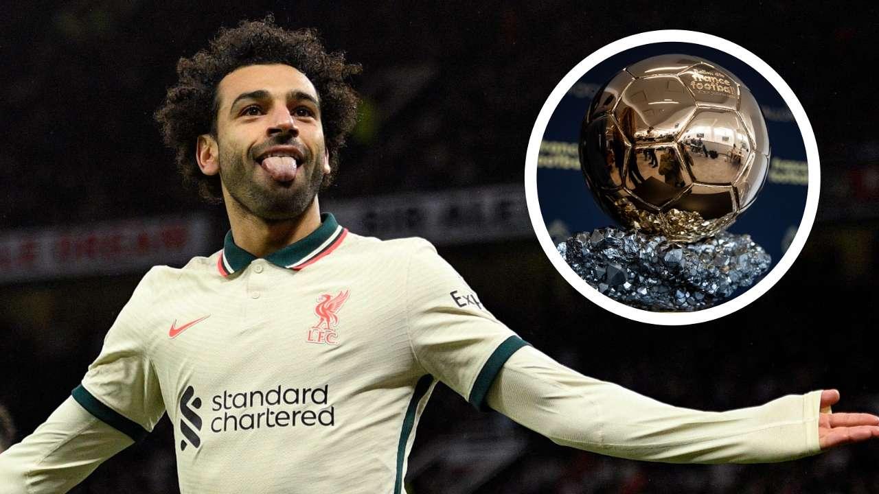 Mohamed Salah Ballon d'Or GFX