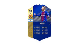 FIFA 18 Ultimate Team of the Season Messi