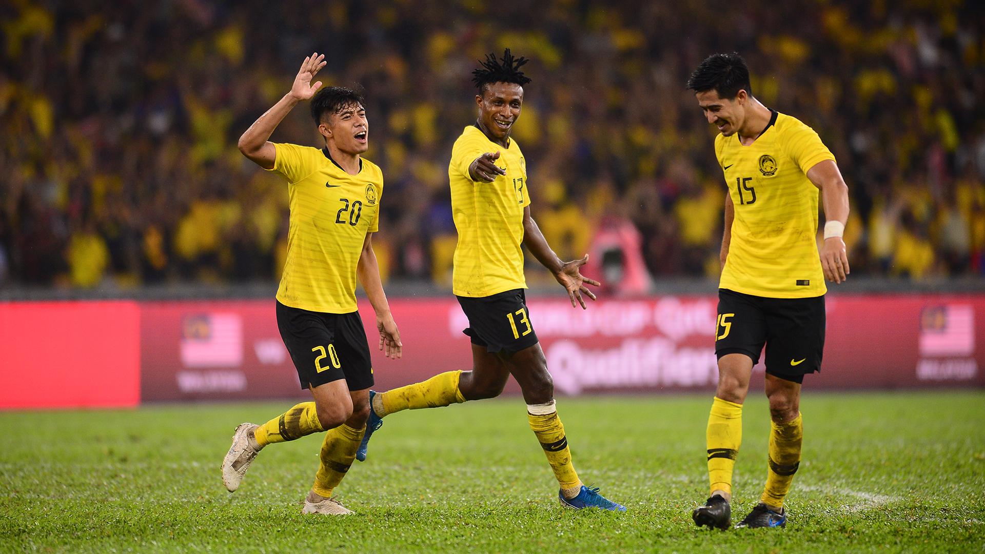 Syafiq Ahmad,Mohamadou Sumareh,Brendan Gan,马来西亚诉泰国,2022年世界杯预选赛,2019年11月14日
