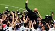 Zinedine Zidane Real Madrid LaLiga 2017
