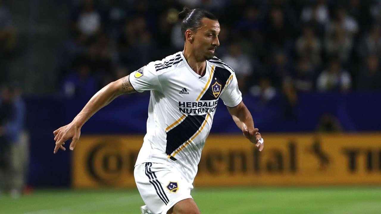 Zlatan Ibrahimovic LA Galaxy MLS 2018